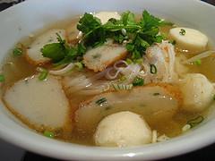 Soupy noodles